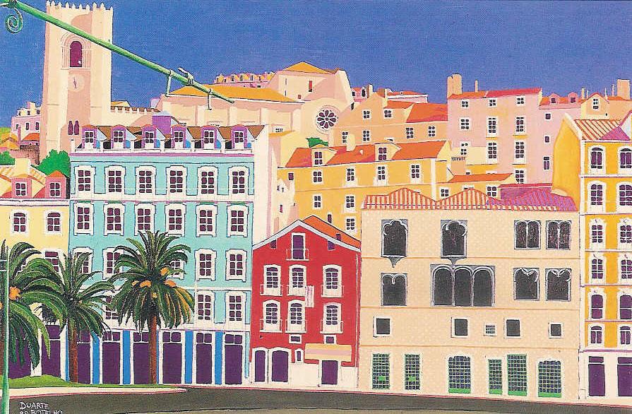top5-DB18 - Casa dos Bicos e Sé de Lisboa